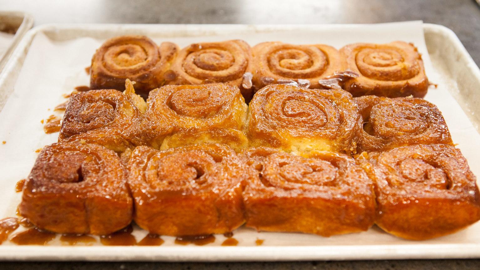 Delicious caramel rolls